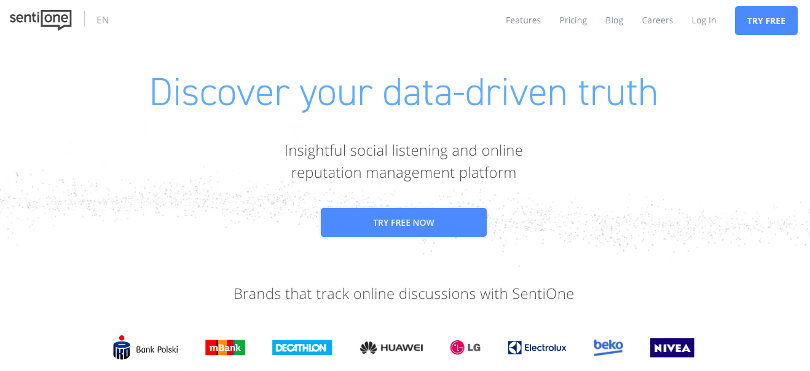 """SentiOne Home Page """"width ="""" 810 """"height ="""" 371 """"/> </p> <p> Most solopreneurs invest a lot of effort in the growth of the brand. And for that reason, they need a reliable tool to listen to social media in their marketing arsenal. </p> <p> Such a platform can help them stay in touch with the feelings, content preferences, and opinions of their target audience. When they have access to these details, they will be able to set up their marketing campaigns effectively. </p> <p> <span style="""
