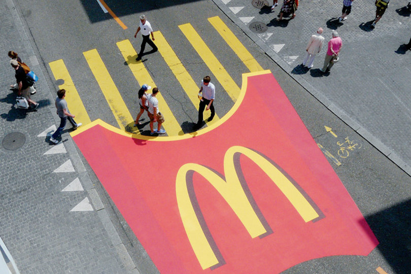 Concordance of McDonald&#39;s French Fries - Street Announcement &quot;width =&quot; 810 &quot;height =&quot; 540 &quot;/&gt; </p> <p> Unique marketing tactics are the best way to make your brand and products memorable. The best campaigns require the most creativity, not the most funding. Staging the campaign at the right time, in the right place, can also significantly increase the visibility of your business. With the right idea and the right execution, your brand could be the subject of the next viral advertising sensation. </p> <p><span class=