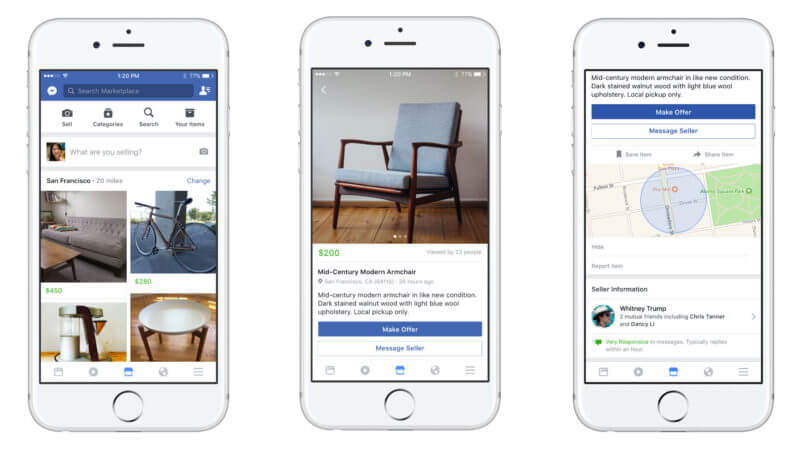 Facebook Marketplace receives professional offers from Handy