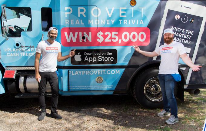 Bet Money with Proveit, 1-vs-1 App - Business Digit