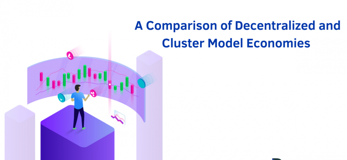 A Comparison of Decentralized and Cluster Model Economies