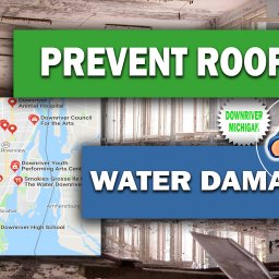 EASY WAYS TO PREVENT ROOF WATER DAMAGES