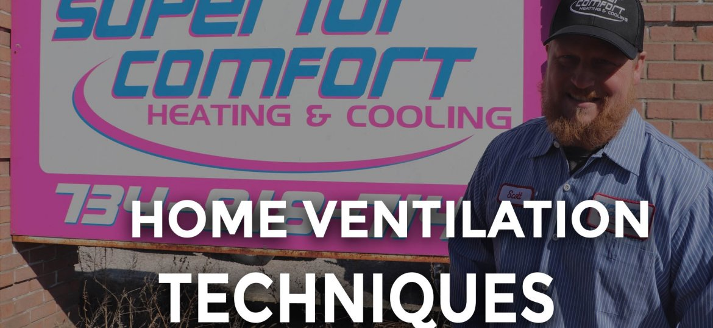 Home Ventilation Techniques